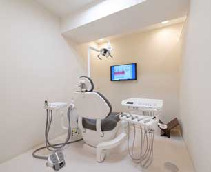 個室・半個室の治療室